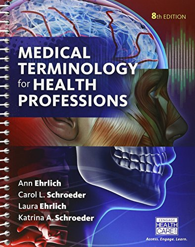 Bundle: Medical Terminology for Health Professions, 8th + Student Workbook + LMS Integrated for MindTap Medical Terminology, 2 terms (12 months) Printed Access Card