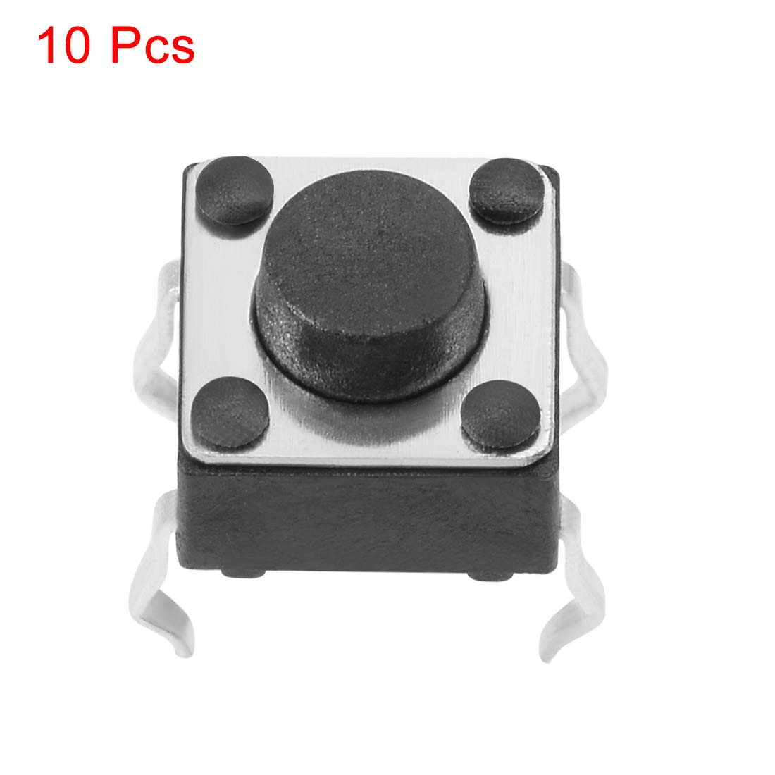uxcell 6x6x7mm Panel Mini PCB Momentary Tactile Tact Push Button Switch Dip 10PCS a18062200ux0474