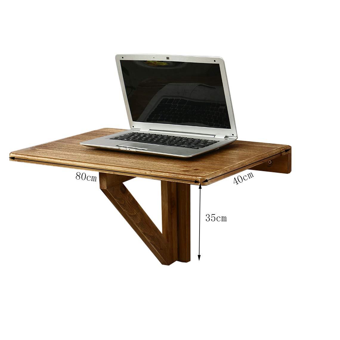Table Pliante Taille 8040cm Table Murale En Bois à Feuilles