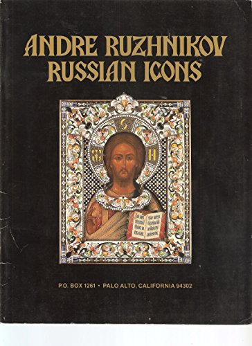 Andre Ruzhnikov: A Collection of Russian Icons, Silver, Enamels, Bronzes and Faberge