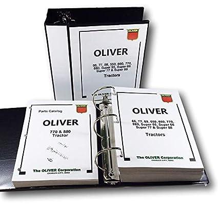 Amazon.com: Oliver 770 880 - Set de reparación manual de ...