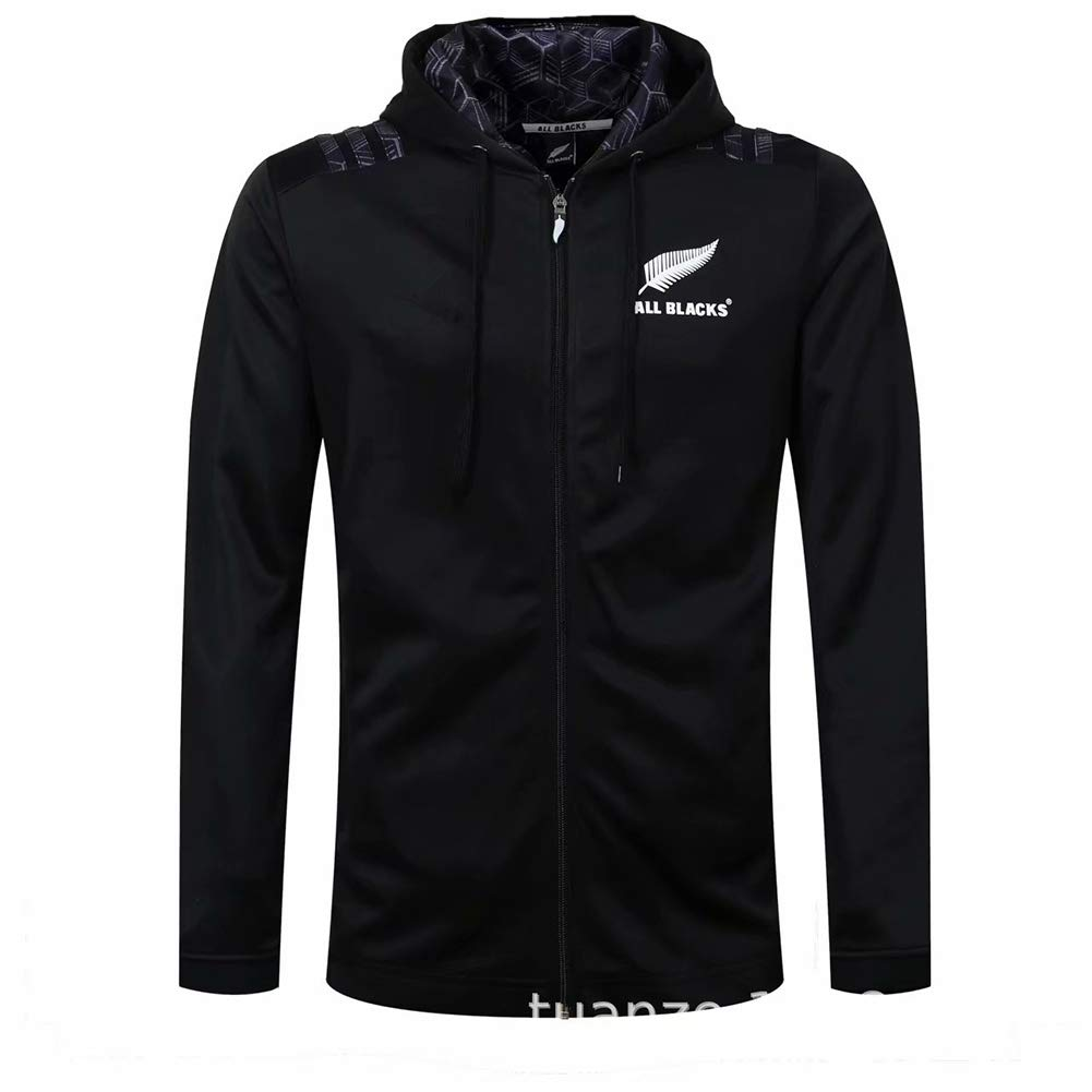 AFDLT 2019 All Black Rugby Jacket,Hombre Invierno Rugby Jersey ...