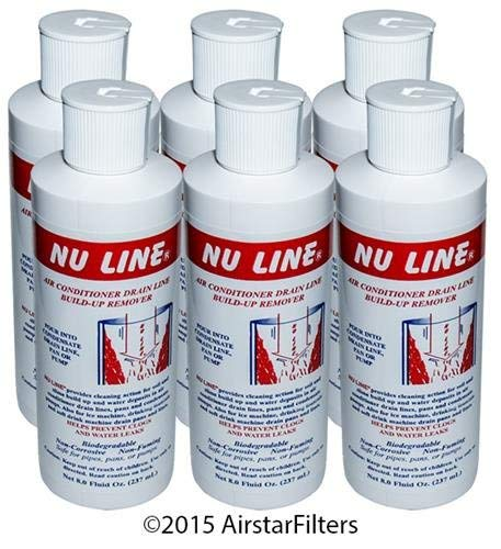 FAST SHIPPING! (6)-Pack NuLine HVAC Condensate Nu-Line Drain Cleaner , 8 ounce