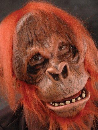 (Zagone Studios Men's Super Action Orangutan , Orange, Adult One)