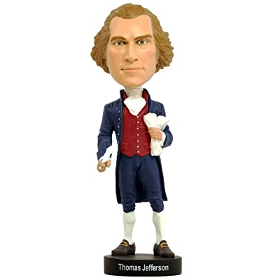 Royal Bobbles Thomas Jefferson Bobblehead: Toys & Games