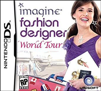 Amazon Com Imagine Fashion Designer World Tour Nds Video Games