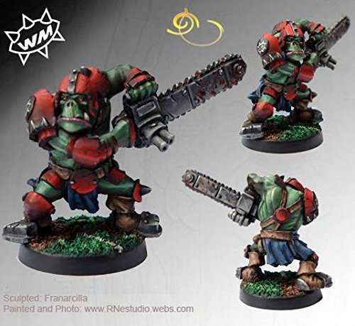 Willy Miniatures Orc Chainsaw