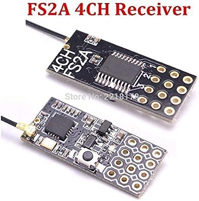 Flysky FS2A 4CH AFHDS 2A Mini-kompatibler Empfänger PWM-Ausgang