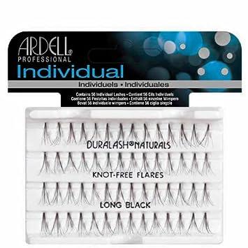 01ee771bba8 Amazon.com : Ardell Duralash Individual Eyelashes No Knot Naturals Long  Black (3 Pack) : Fake Eyelashes And Adhesives : Beauty
