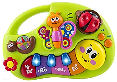 WolVol Baby Musical Piano Keyboard Toy Educational Infant Toy Activity Center by WolVol that we recomend personally.