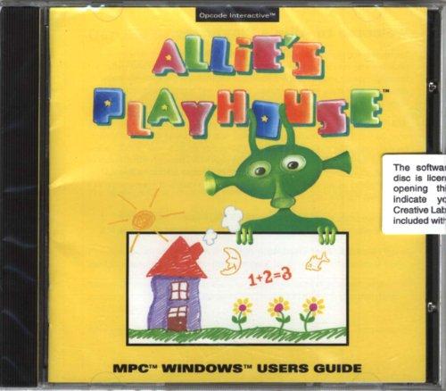 Allies Playhouse  Cd Rom  Interactive Educational Program