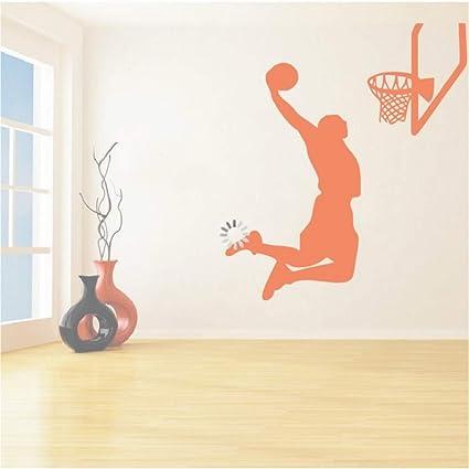 Cmhai Vinyl Re Sports Wall Stickers Mvp Jugador De Baloncesto De ...