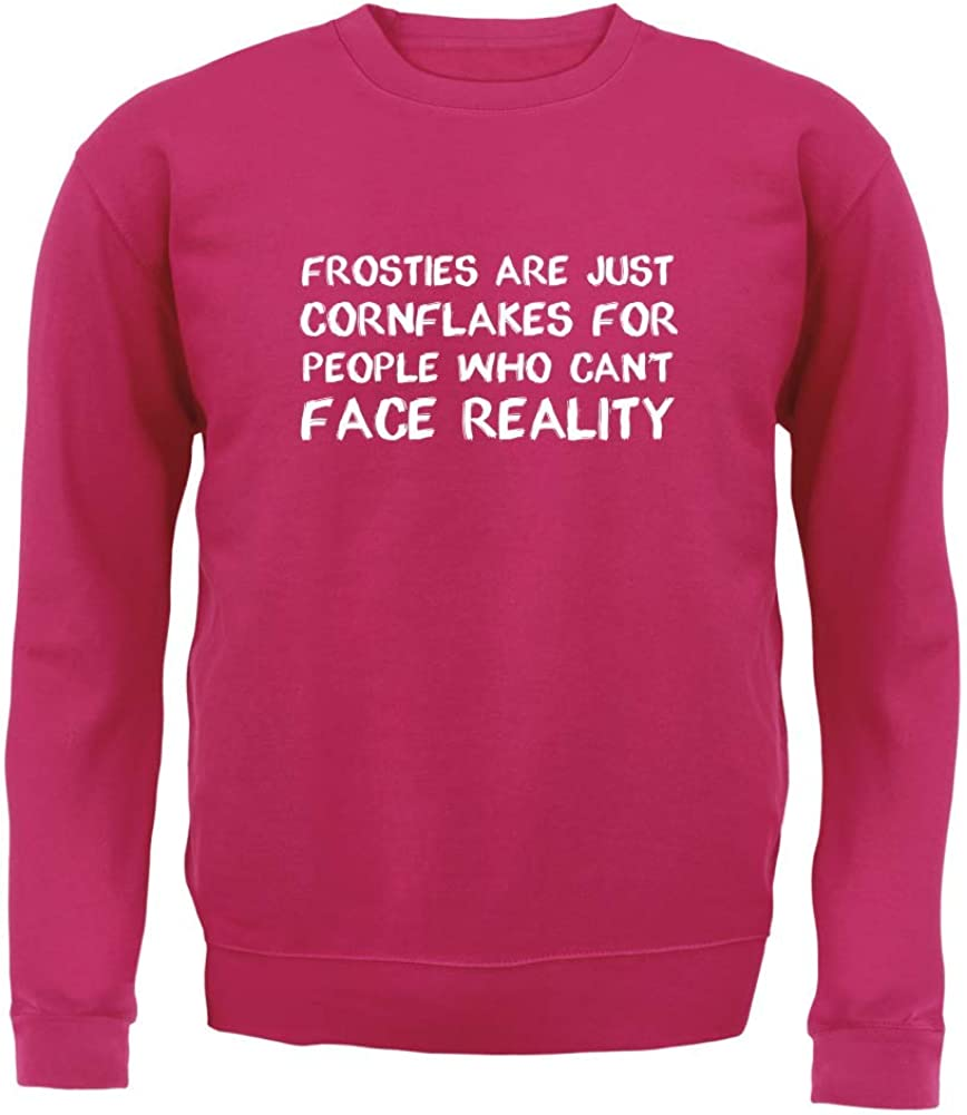 Kids Jumper 8 Colours for People Who Cant Face Reality Dressdown Frosties