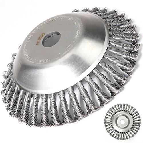 Cabeza Cepillo desherbar para desbrozadora diámetro 230 mm ...