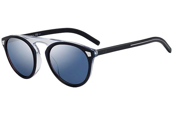 16c64173cdb1 Christian Dior Homme DiorTailoring2 Sunglasses Blue Havana w Blue Sky  Mirror Lens 52mm JBWXT Dior
