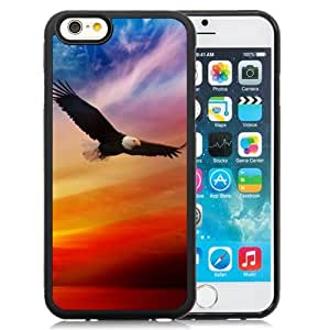 New Personalized Custom Designed For iPhone 6 4.7 Inch TPU Phone Case For American Bald Eagle For Independence Day Phone Case Cover wangjiang maoyi