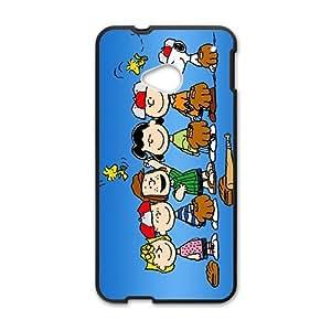 Cartoon Love Family Play Baseball Black HTC M7 case by icecream design