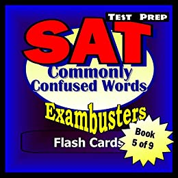 sat test prep commonly confused words review exambusters. Black Bedroom Furniture Sets. Home Design Ideas