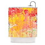 Kess InHouse Ebi Emporium 'Sun Showers' Shower Curtain, 69 by 70-Inch