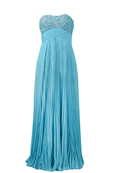 Vestido de fiesta de la bola Toscana novia moda de los vestidos de noche de gasa