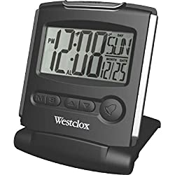 Westclox Fold-Up Travel Alarm Clock