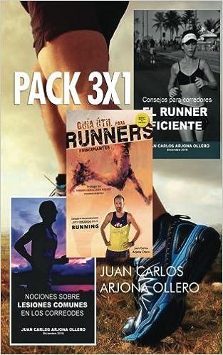 3 Guias para corredores: Incluye la Guia util para runners principiantes (Spanish Edition): Juan Carlos Arjona Ollero: 9781543266870: Amazon.com: Books