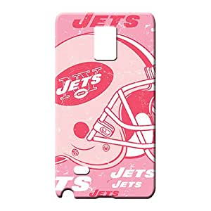 samsung note 4 Hybrid Skin Snap On Hard Cases Covers cell phone carrying skins new york jets nfl football