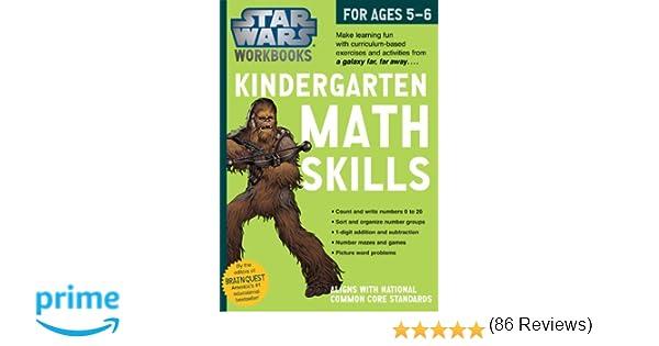 Star Wars Workbook: Kindergarten Math Skills (Star Wars Workbooks ...