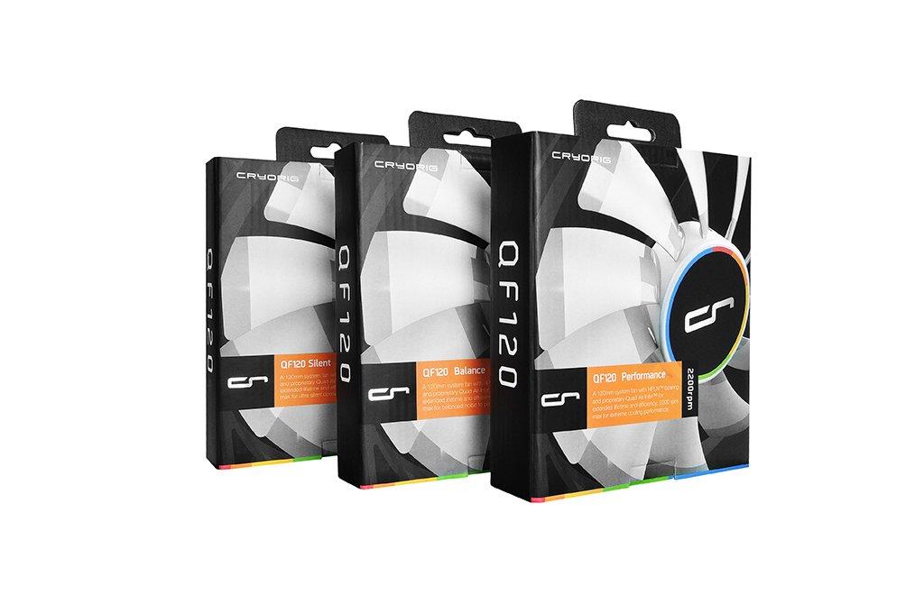 CRYORIG QF120/Performace Processeur Ventilateur