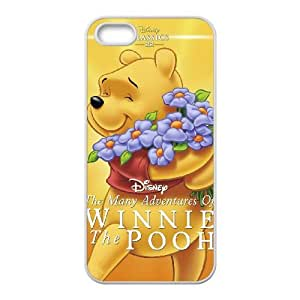 iPhone 4 4s Cell Phone Case Covers White Many Adventures of Winnie the Pooh NTUHEPB07238 Cell Phone Case Personalized Plastic