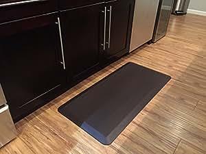 Amazon Com Novaform Anti Fatigue Comfort Mat Dark Brown