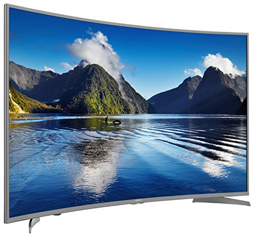 Hisense 55 Zoll Curved Fernseher (Ultra HD, Triple Tuner, Smart TV)
