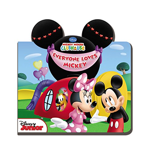 Mickey Mouse Clubhouse Everyone Loves Mickey (Mickey Mouse Baby Book)