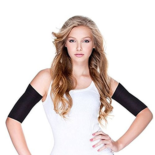 Arm Compression Detox Slimming Wraps 2 Pack, Shaping Cellulite Slimmer Sport Sleeves, Compression Toner Detox Shape Wrap Sleeves, One Pair by Alayna (TM)