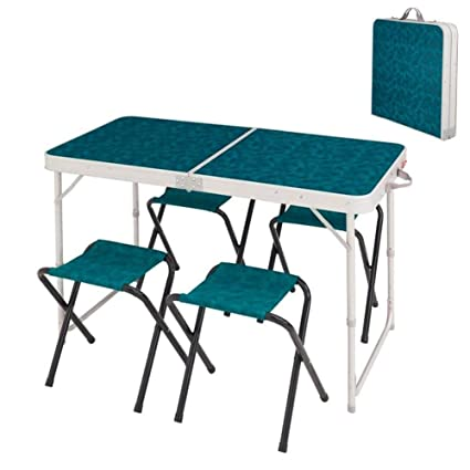 Ljfymx Table Pliante Valise Table Pliante Portable Table De
