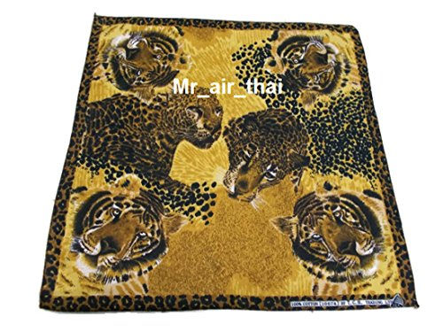 John Jacket Pirate Silver Long (Yellow Cotton Handkerchief Animal Leopard Tiger Scarf Bandana Headband Mens Women Lady)