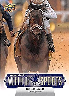 Super Saver trading card (Horse Racing Thoroughbred Kentucky Derby Champion) 2011 Upper Deck #292