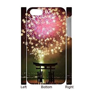 Fireworks 3D-Printed ZLB594735 Unique Design 3D Phone Case for Iphone 4,4S