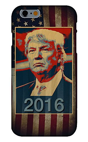 Apple iPhone 6 Custom Case White Plastic Snap On - 2016 - Presidential Candidate Design
