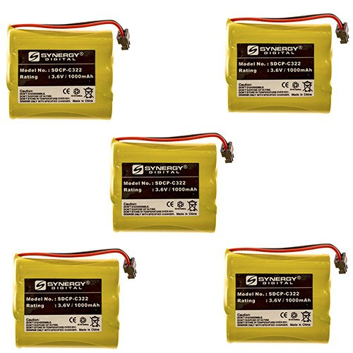 Radio Shack ET-687 Cordless Phone Battery Combo-Pack incl...