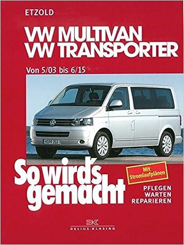 VW Multivan / VW Transporter T5 115-235 PS: Diesel 84-174 PS ab 5 ...