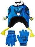 Disney Big Boys' Finding Nemo Dori 3D Knit Peruvian and Glove Set,  Royal, Mediano