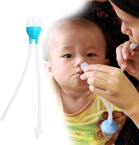 1pc bebé aspirador nasal de la nariz del bebé limpiador boca de ...