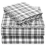 Best Flannel Sheets - EnvioHome 160 Gram Flannel 4 Pc Sheet Set Review