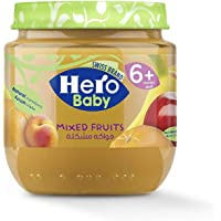 Hero Baby Mixed Fruits Jar, 125 gm