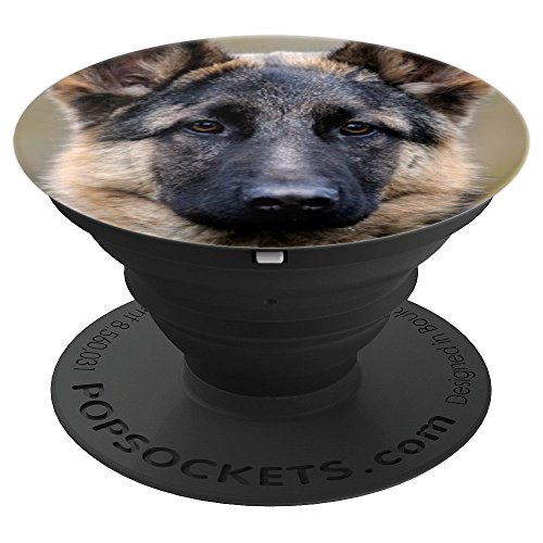 German Shepherds Cute (Cute German Shepherd Dog Puppy Owner Gift Idea - PopSockets Grip and Stand for Phones and Tablets)