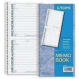 TOPS Memorandum, Carbonless Duplicate, 5 x 5.5 Inches, 100 Sets per Book (4150)