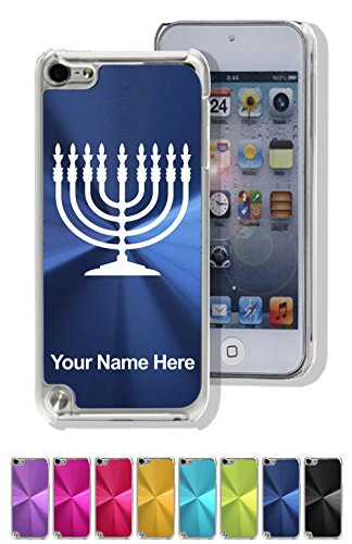 Personalized Menorah - Case Compatible with iPod Touch 5th/6th Gen, Menorah, Personalized Engraving Included