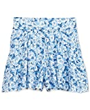 RALPH LAUREN Denim & Supply Women's Floral-Print Pleated Shorts (32, Kendall Floral)
