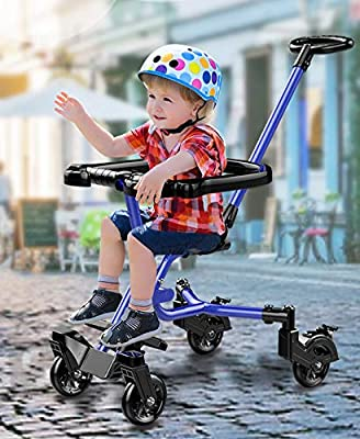 c0a04c4ac38 HWF Shop Color : White 3 Wheels Baby Stroll Artifact Children Trolley  Folding Lightweight Portable Baby Tricycle Tourism